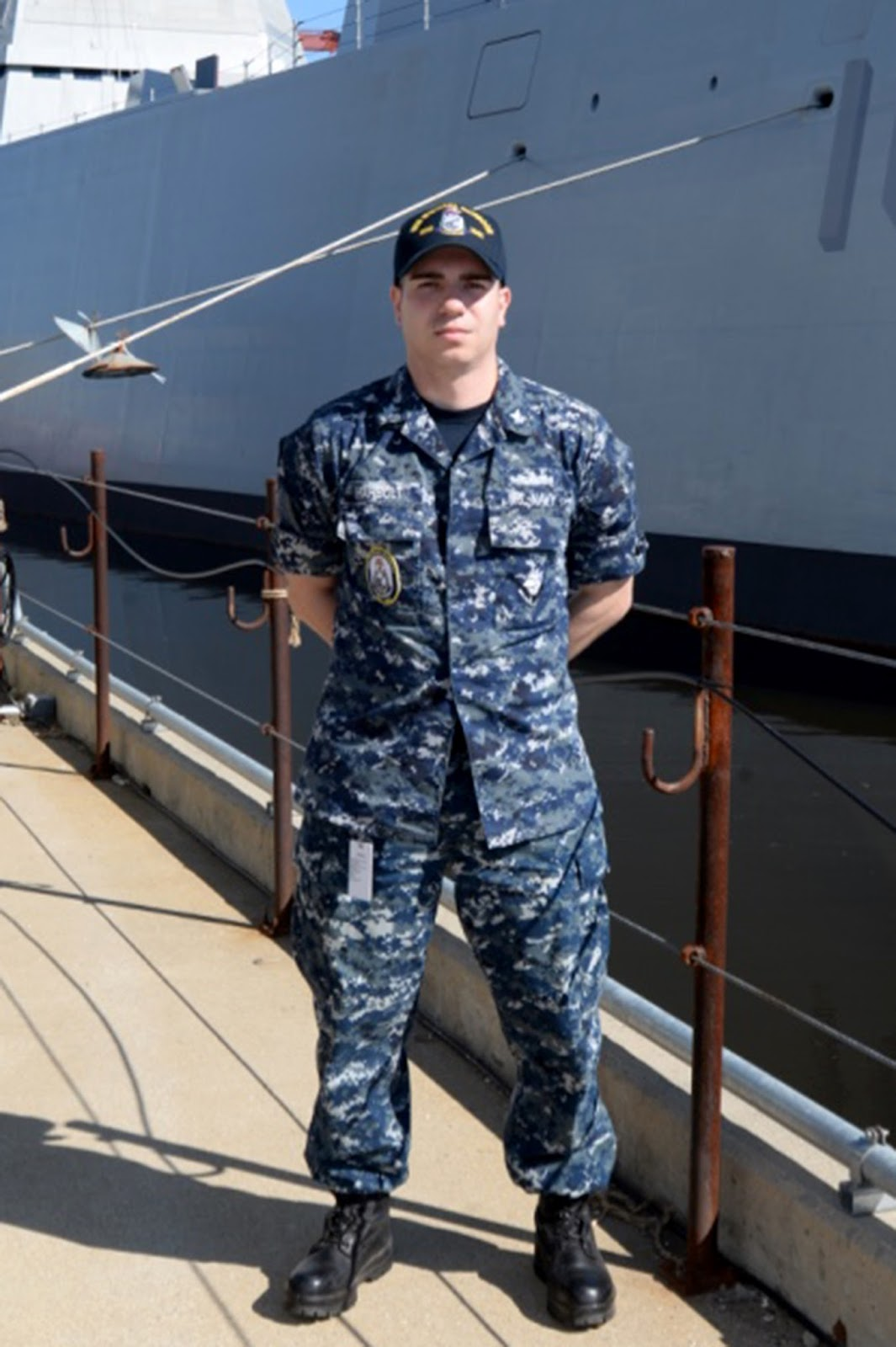 """Marion, Ohio native serves aboard one of the U.S. Navy's """"Stealth ..."""