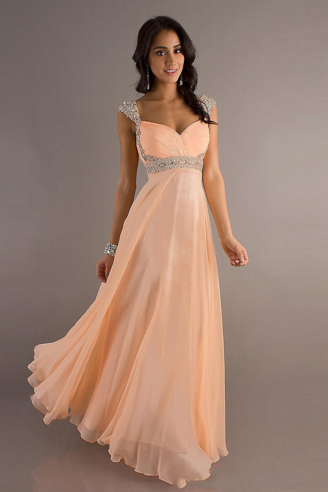 medium length haircut pretty prom dresses look pretty with them