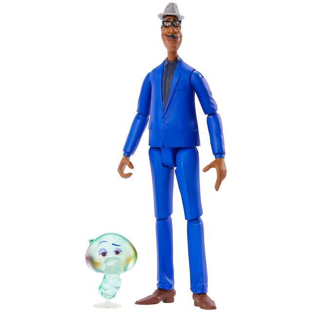 Pixar Soul Joe and 22 Action Figure