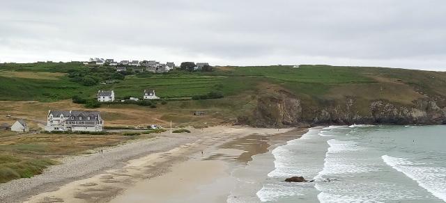 Panoràmica de la costa bretona