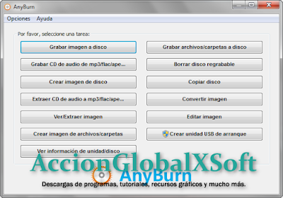 Grabador de CD / DVD / Blu-ray, liviano y práctico