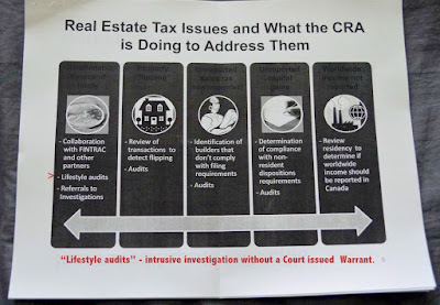 CRA Vancouver office - confidential - Leaked briefing notes