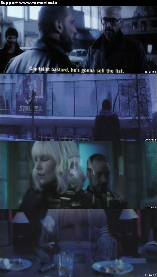 Atomic Blonde 2017 English HDTS x264 700MB