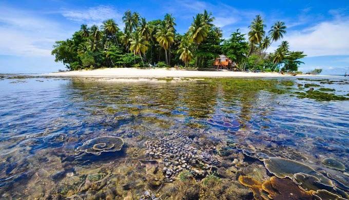 Tiket Masuk Pantai Pulau Angso Duo