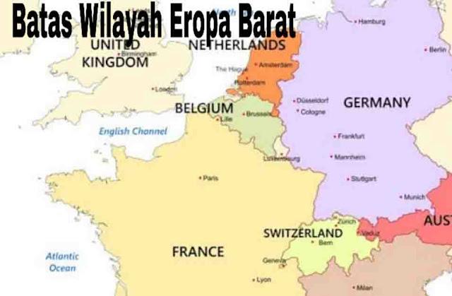 Batas Wilayah Eropa Barat