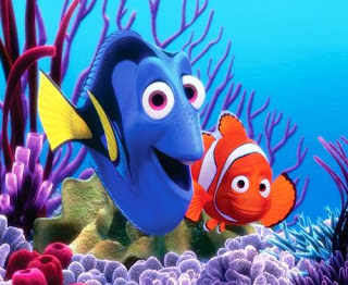 Gambar Animasi Ikan Nemo Lucu