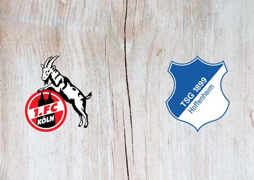 Köln vs Hoffenheim -Highlights 8 November 2019