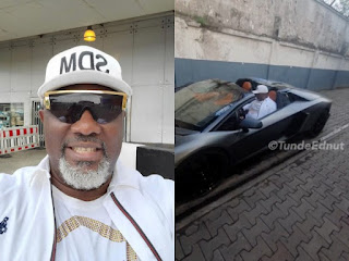 Senator Dino Melaye (SDM) Buys A Lamborghini Aventandor Worth N460Million (VIDEO)