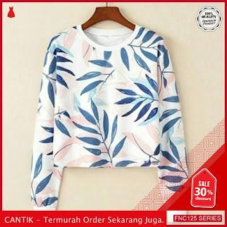 FNC125S40 Sweater Leaf Crop Babytery  Hanaya 40 Ribuan