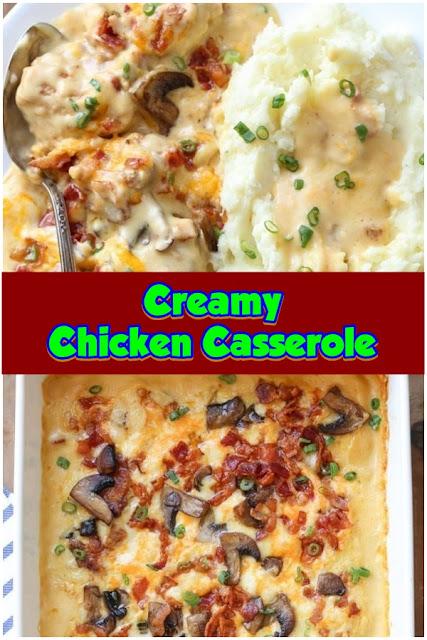 #Creamy #Chicken #Casserole