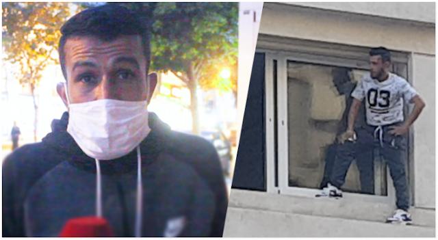 """أُفرج عن الشاب بلال الذي هدّد بالانتحار من مقر شركة """"صوماجيك"""" في مدينة طنجة، وذلك بعد توقيفه على خلفية الحادث…"""
