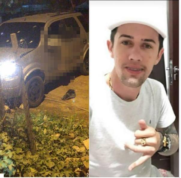 Homem é executado com vários tiros dentro de um carro na cidade de São Bento