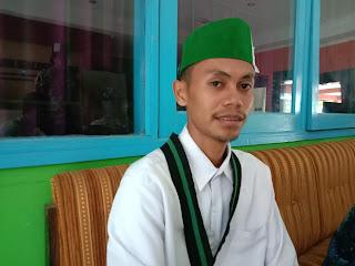 Ketua HMI MPO Cabang Mataram Muhammad Arif