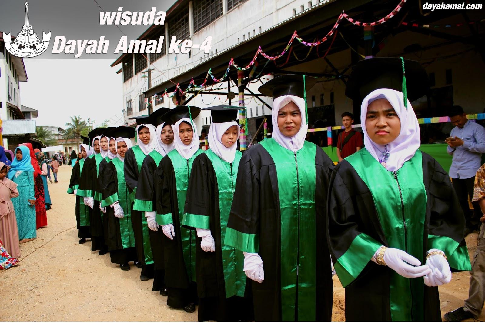 Wisuda Santriwan/i Dayah Amal Ke-4