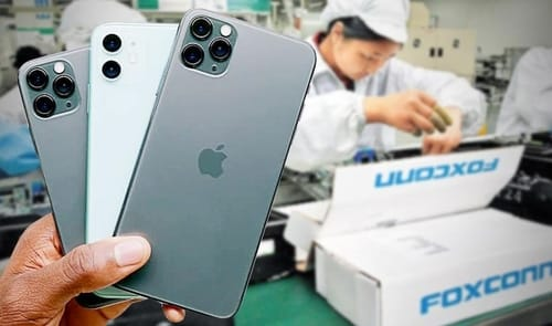 Foxconn sees strong demand for iPhone 12