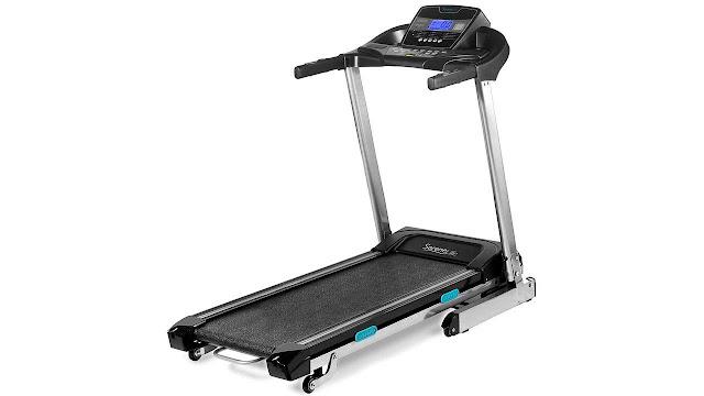 SereneLife Foldable Digital Home Gym Treadmill