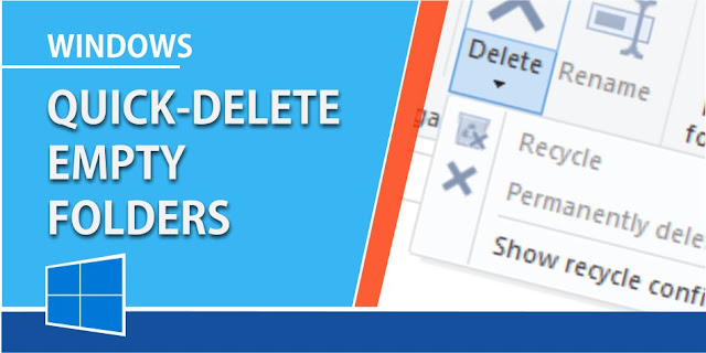 6 Free software to delete Empty folders in Windows 10