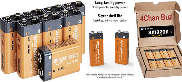 Best 9 Volt Alkaline Battery