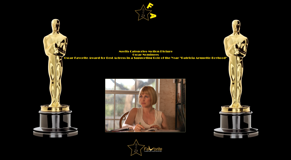 oscar favorite best actress in a supporting role award patricia arquette boyhood