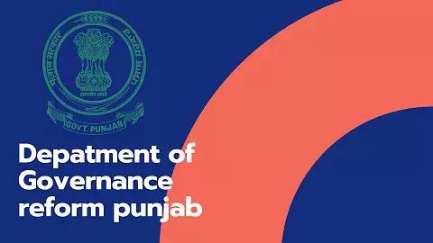 Department of Governance Reforms Punjab ( DGR )