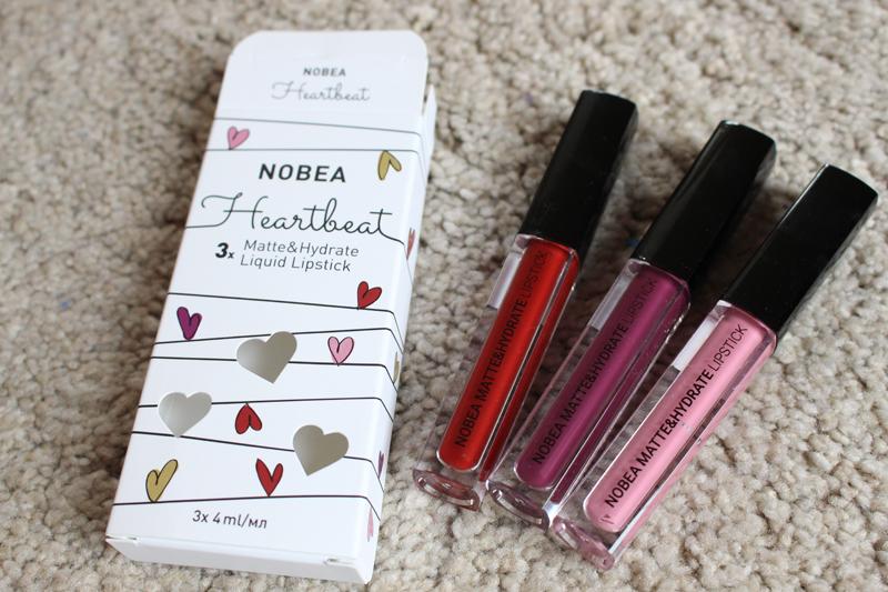 Trio lipsticks