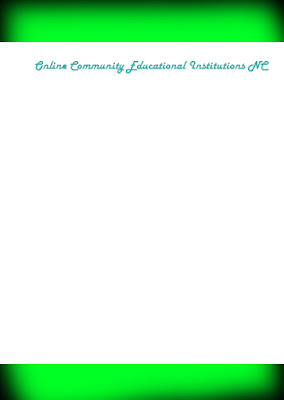 Online Community Educational Institutions NC