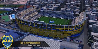PES 2017 La Bombanera + FIX by BlackBull Stadiums