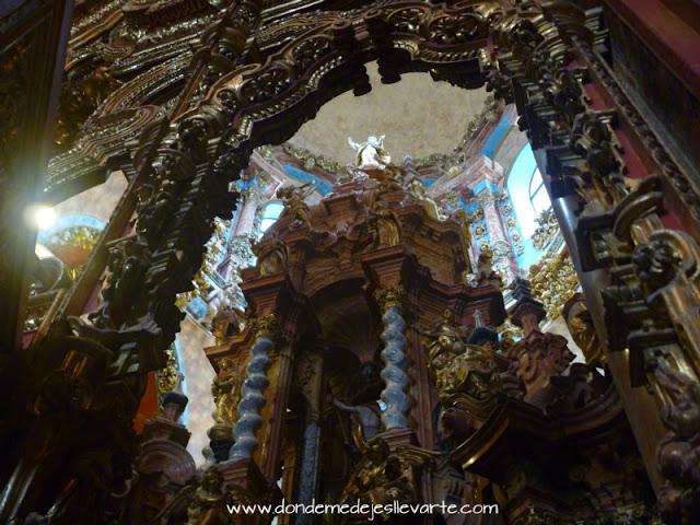 Tabernáculo o Transparente del Monasterio del Paular