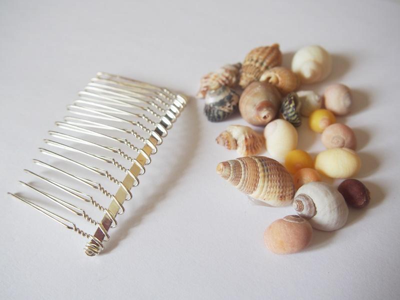 DIY : peigne coquillages