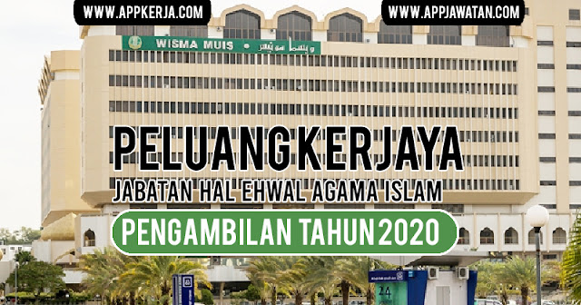 Jawatan Kosong di Jabatan Hal Ehwal Agama Islam