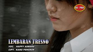 Lirik Lagu Lembaran Tresno (Dan Artinya) - Happy Asmara