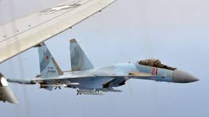 Russian SU-35 fighter jets 'unsafely' intercept US plane over Mediterranean Sea