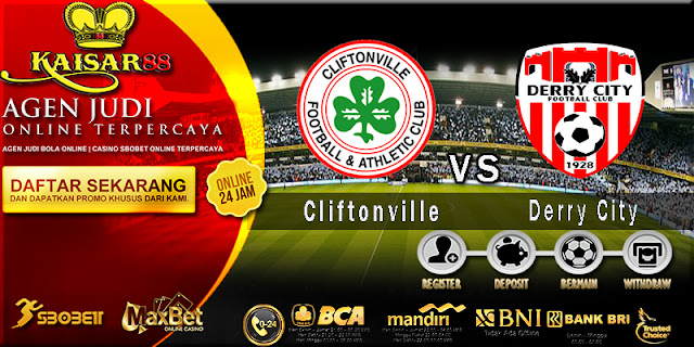 Prediksi Bola Jitu Cliftonville Vs Derry City 03 Juli 2018