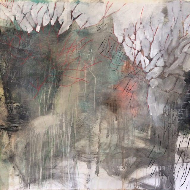 Estelle Séré - peinture sur toile - 2017