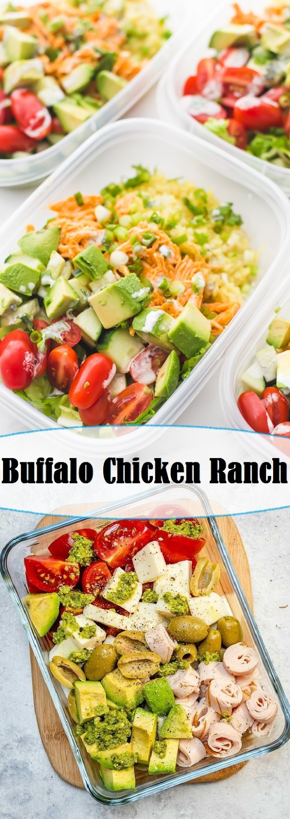 Buffalo Chicken Ranch