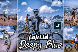 2 Preset Terbaik Xmp Deepy Blue Lightroom