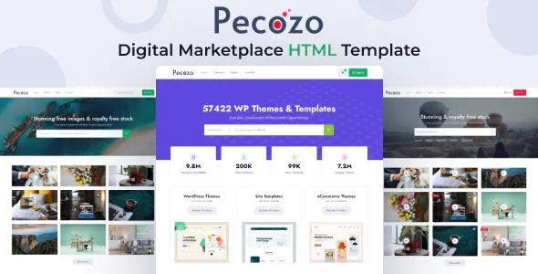 Best Digital Marketplace HTML Template
