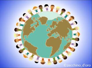 Bambini uniti di tutto il mondo