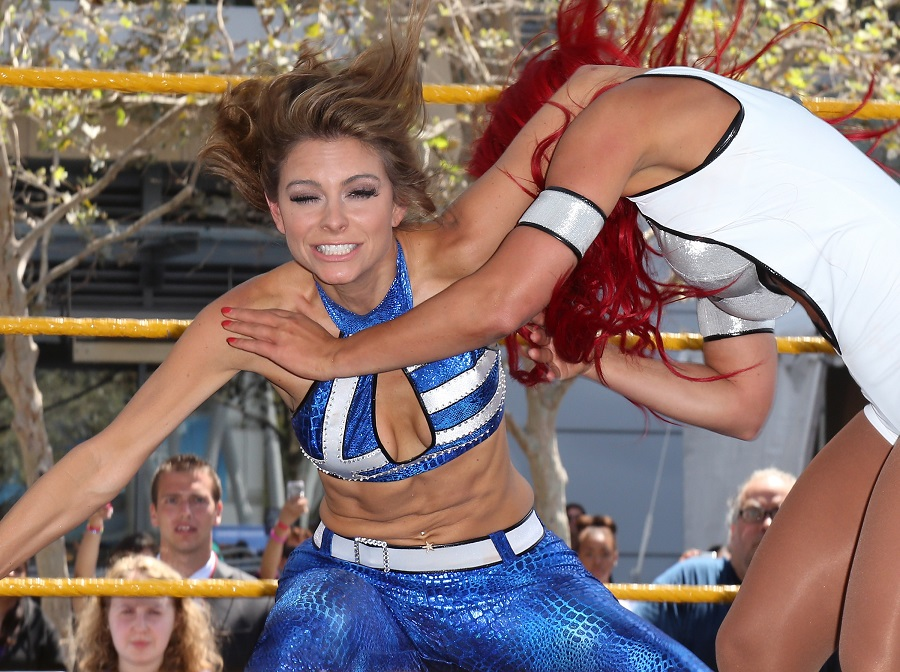 Maria Menounos At WWE SummerSlam 2013 In LA