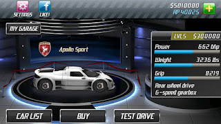 Drag Racing Mod Apk v1.7.22 Terbaru For Android