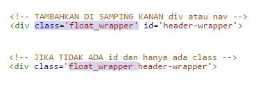 Contoh Tag HTML
