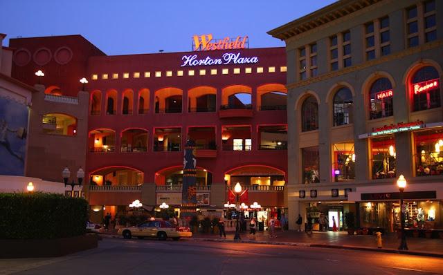 Loja Mac no Horton Plaza em San Diego