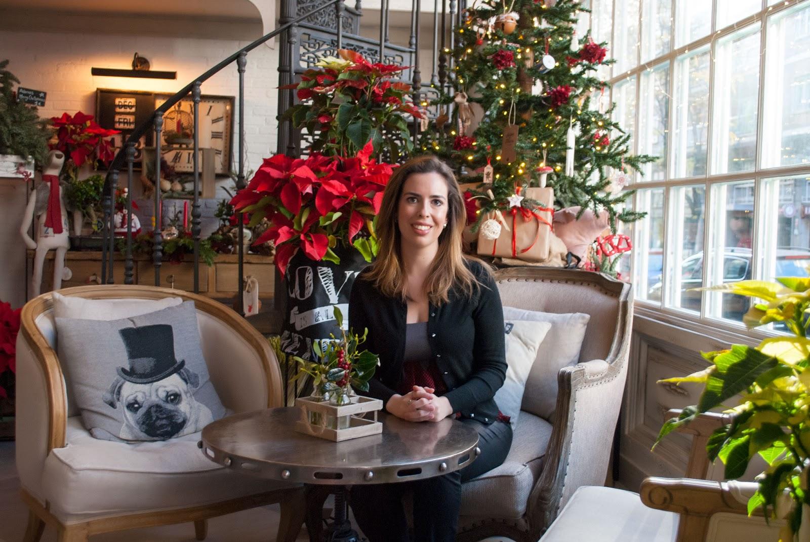 salon del fleurs madrid navidad christmas