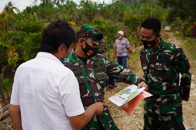 Danrem 071/Wijayakusuma Tinjau Lokasi Serbuan Teritorial Tingkat Kodam IV/Diponegoro