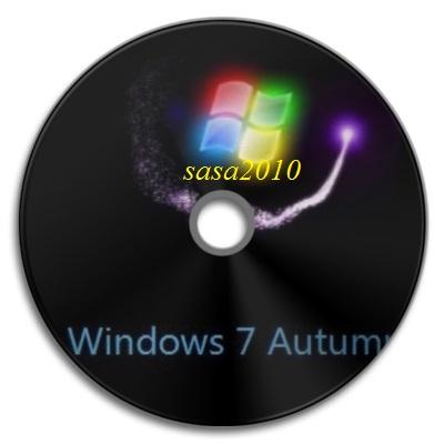 تحميل نسخة Win7 Autumn Lite الجوست المخصصه للاجهزه الضعيفه