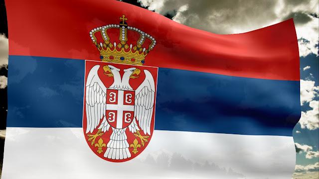 Αποτέλεσμα εικόνας για σερβική σημαία