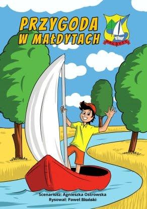 Komiks reklamowy - Gmina Małdyty