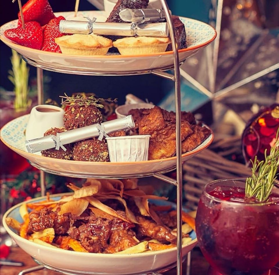 10 Reasons to Visit Liverpool in December - Dirty Santa Afternoon Tea