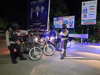 Satuan Sabhara Polres Enrekang Patroli Biru, Ini Sasarannya !!!