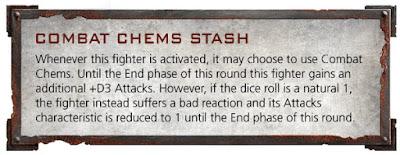 Drogas de combate Goliath